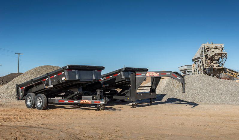 "2020 MAXXD DLX - 83"" Ultra Low Profile Dump Trailer Dump Trailer"