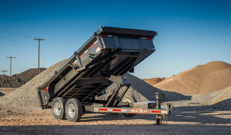 "2020 MAXXD DLX - 83"" Ultra Low Profile Dump Trailer Dump Trailer"