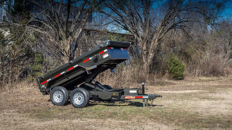 2020 MAXXD D6X - 60 Scissor Lift Dump Trailer Dump Trailer