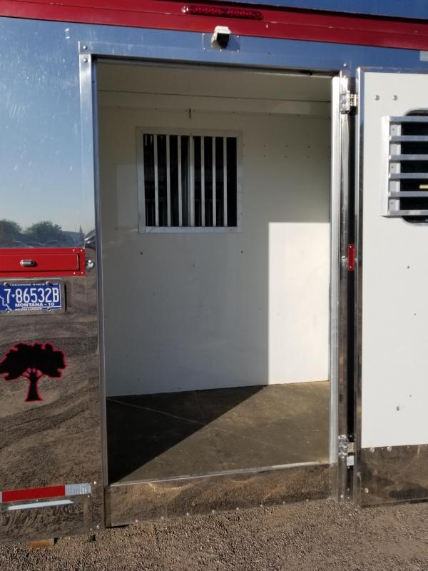 2006 Precision 5-7H BOX STALL TRANSPORT W/ AIR RIDE Horse Trailer