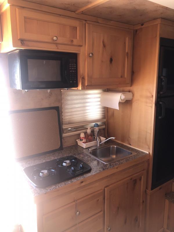 2012 Logan Coach EDGE 3H 810 LQ W/ SLIDE Horse Trailer