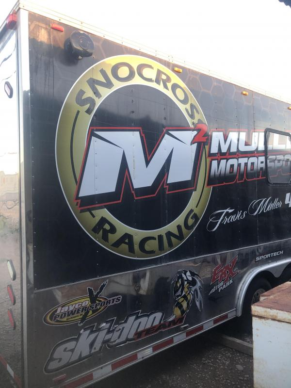 1998 Forest River CARGO TRIPLE AXLE RACE CAR TRAILER Car / Racing Trailer