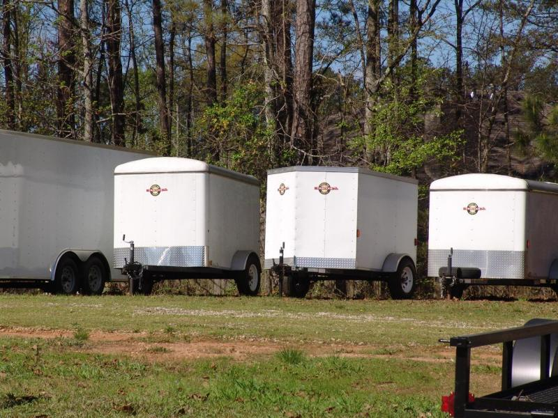 CARRYON 7X16 CGR-OPT Enclosed Trailer