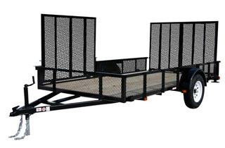 CARRY-ON 7X12 GWATV utility or atv trailer