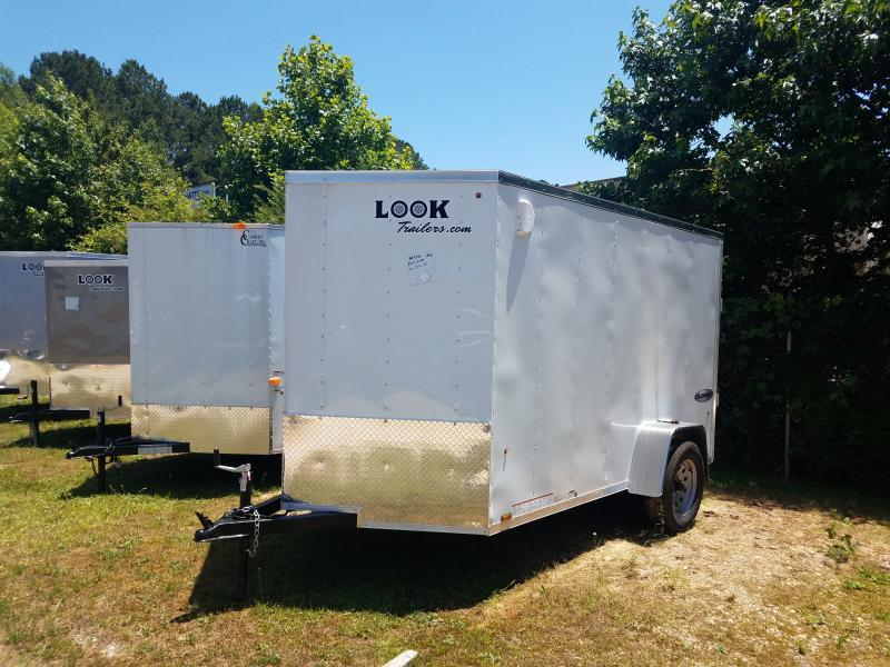 2019 Look Trailers 6x10 Element Cargo / Enclosed Trailer