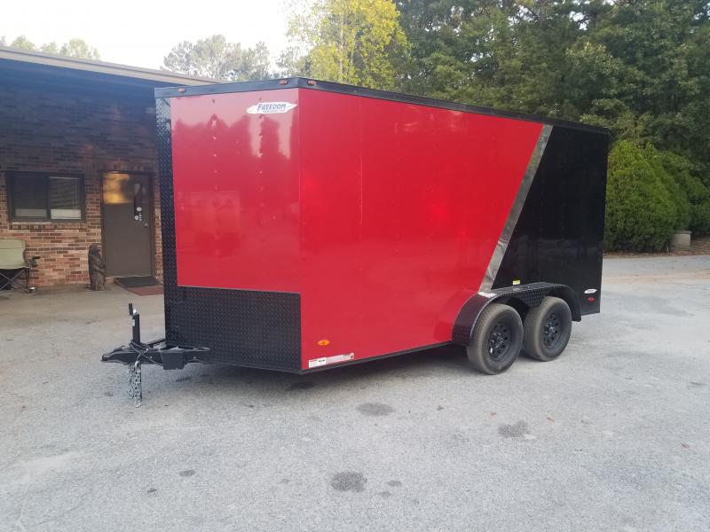 2020 Freedom Trailers 7x14 Cargo / Enclosed Trailer