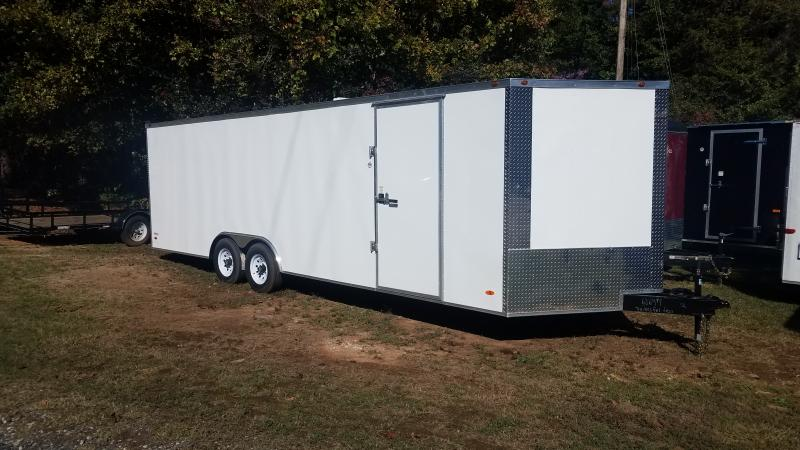 2019 Freedom Trailers 8.5x24 Car / Racing Trailer