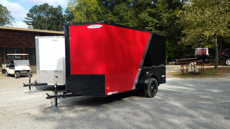 2019 Freedom Trailers 6x12 Cargo / Enclosed Trailer