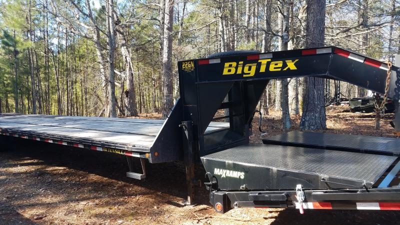 2014 Big Tex Trailers 8.5x40 GN22 Equipment Trailer