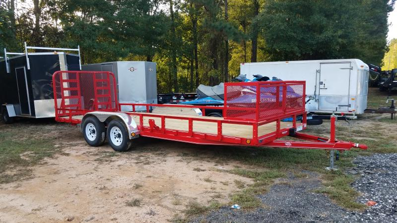 Trailers For Less >> 2020 Pj Trailers Ul20 Utility Trailer