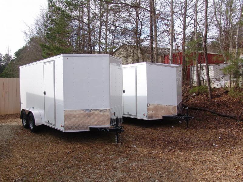 Look Trailers 7X14 element Enclosed Cargo Trailer