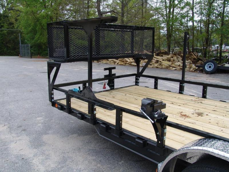 2019 PJ Trailers 83 in. Channel Utility (U8) Utility Trailer