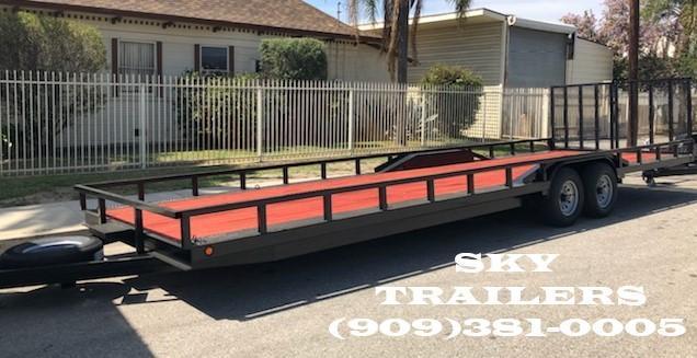 2019 SKY 81/2 X 28  Buggy trailer with split gate