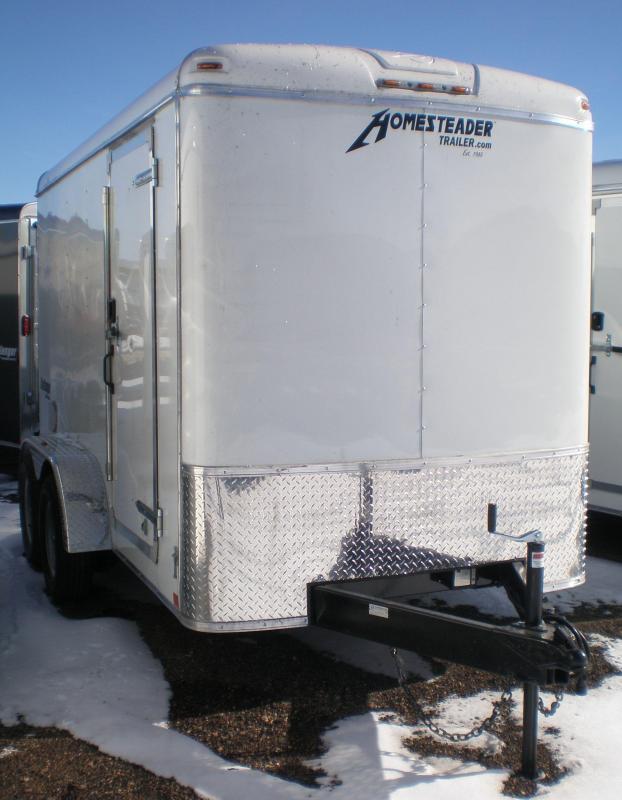 2019 Homesteader 6x12 Enclosed Cargo Trailer w/Ramp