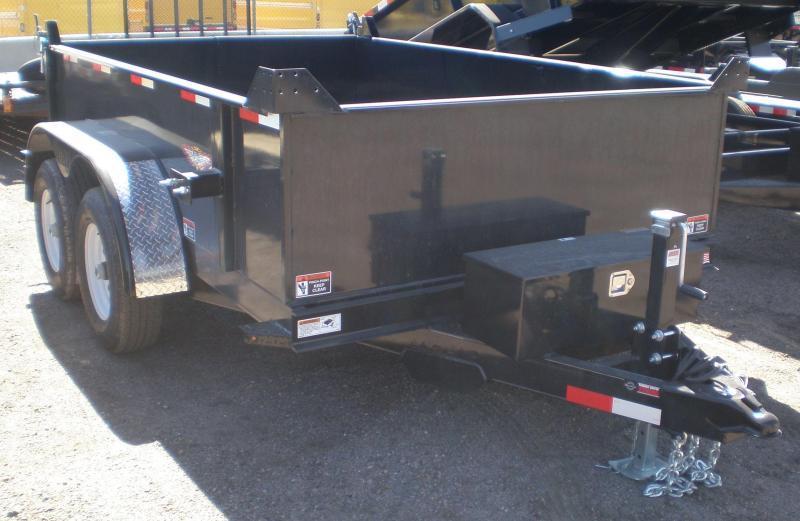 2020 H & H 76x10 Dump Trailer 10K w/Tarp