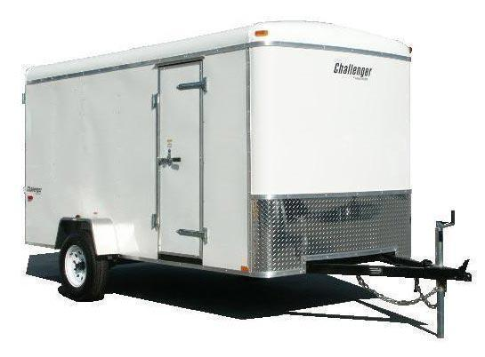 2020 Homesteader 6x12 Enclosed Cargo Trailer Double Doors