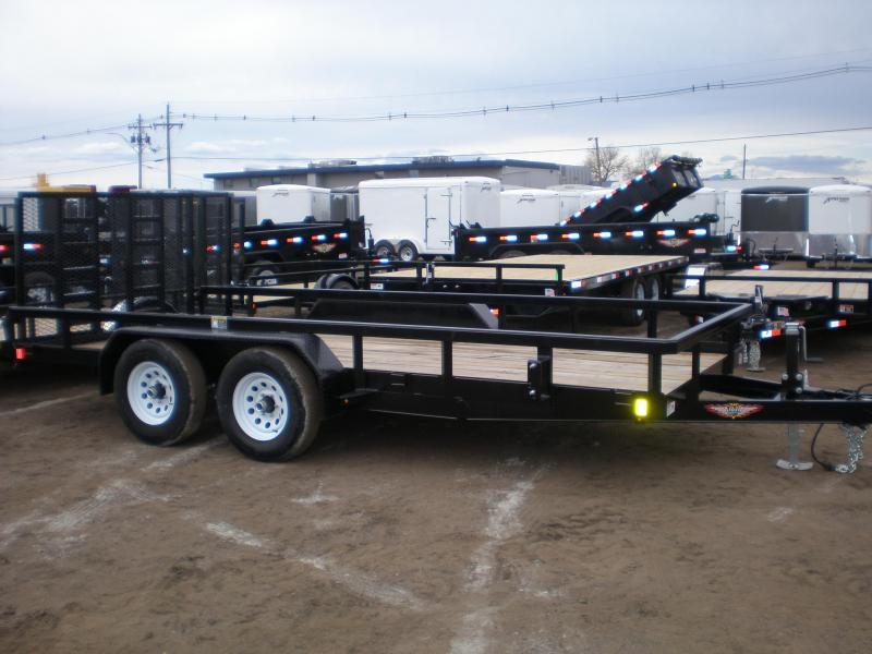 2020 H&H 82x16 Utility Trailer - 10K