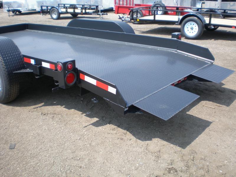 2019 Butler Tilt Flatbed Equipment Transport Trailer 14K