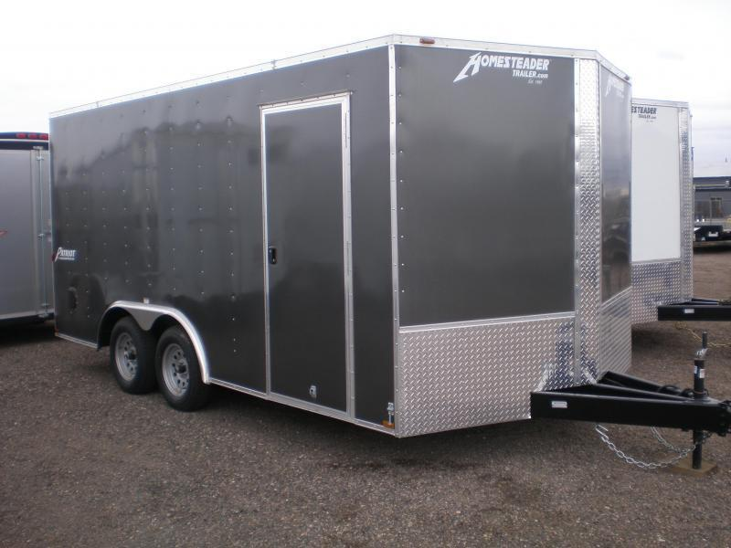 2020 Homesteader 8x16 Enclosed V-Nose Cargo Trailer