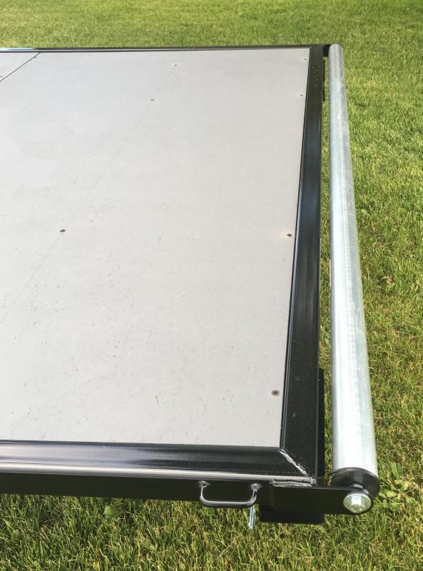 2020 7x12 Raft Trailer w/ Under storage
