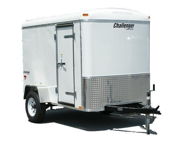 2020 Homesteader 5x10 Enclosed Cargo Trailer W/ Double Rear Doors