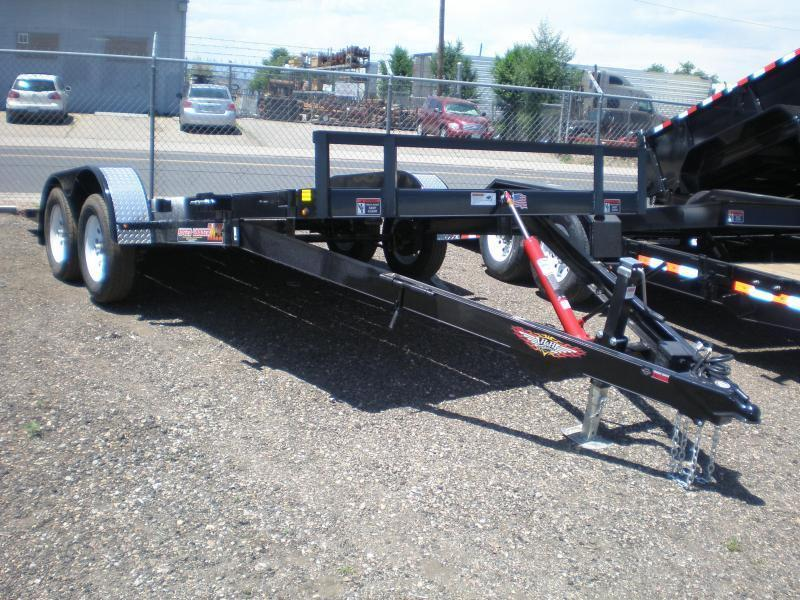 2020 H and H Trailer 82X18 TILT Flatbed Trailer