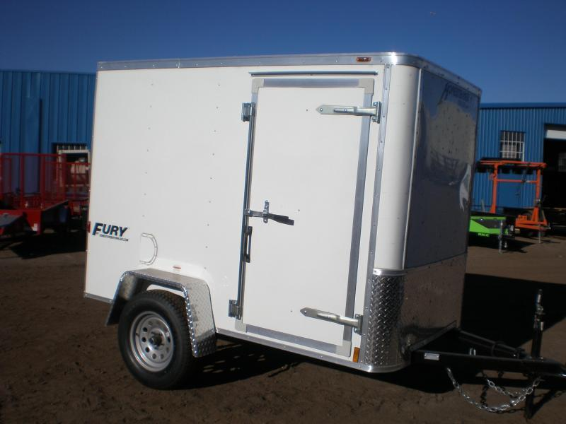 "2020 Homesteader 5x8 ""Fury"" Enclosed Cargo Trailer"