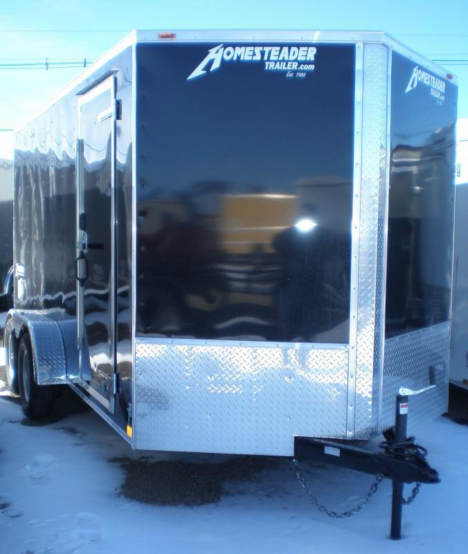 "2020 Homesteader 7x14 ""Intrepid OHV""Enclosed Cargo Trailer"
