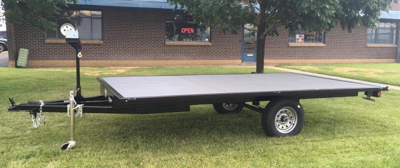 2019 7x12 Raft Trailer w/ Under storage