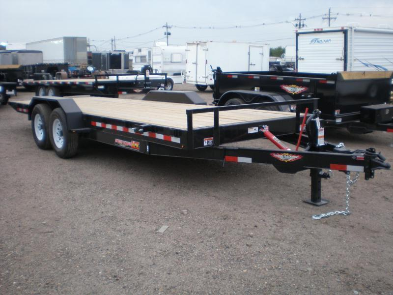 2020 H and H 102X20 Deckover Flatbed Trailer  14K