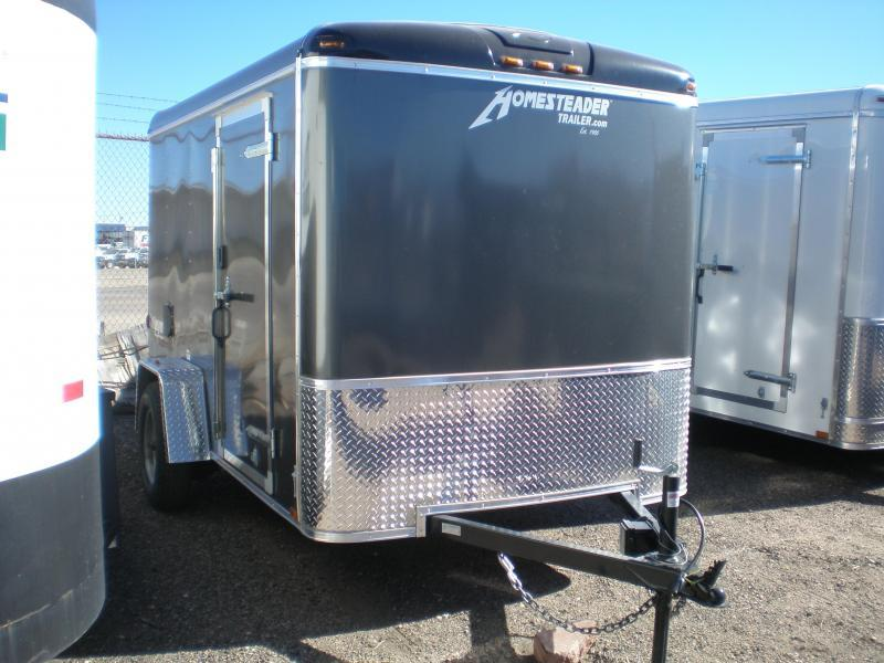 2020 Homesteader 6x10 Enclosed Cargo Trailer w/Ramp