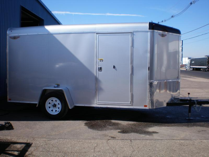 2020 H and H Trailer H7212SRTV-035 Enclosed Cargo Trailer