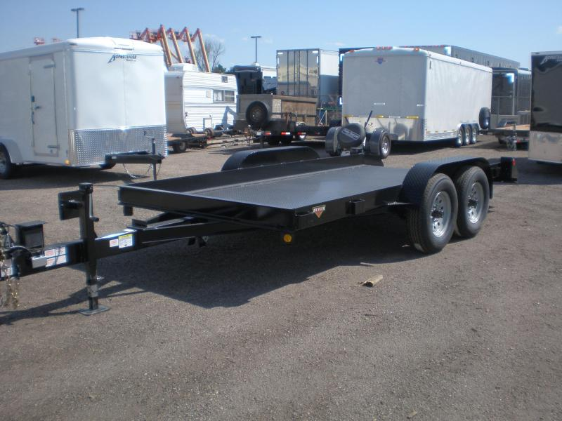 2019 Butler Tilt Flatbed Equipment Transport Trailer 10K