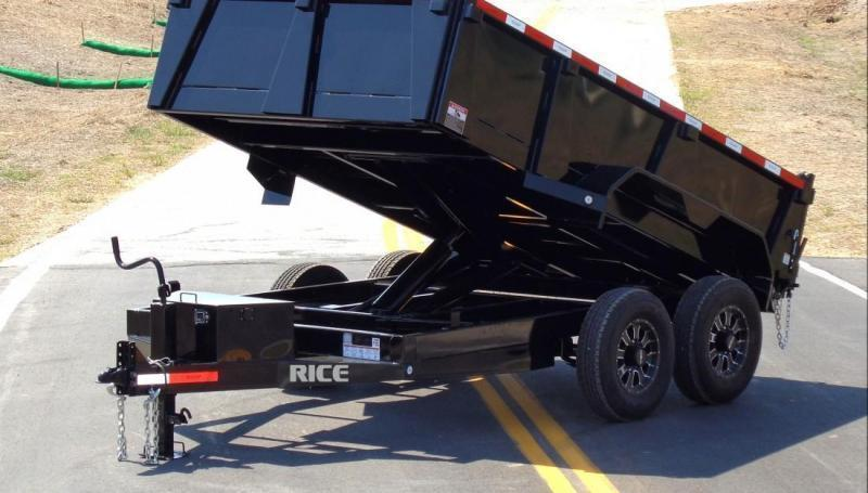 2018 Rice 82x12 HD Dump Trailer
