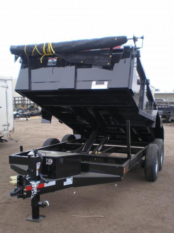 2020 Rice 82x12 HD Dump Trailer