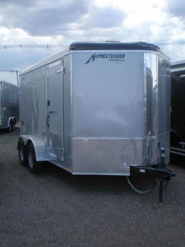 2020 Homesteader 7x12 Enclosed Cargo Trailer V-Nose
