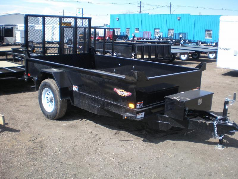 2019 H&H 66X10 Single Axle Dump Trailer 5K