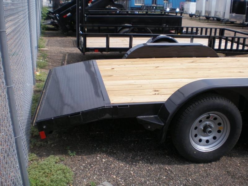 2020 Rice 82x16 Flatbed Car Hauler-Dovetail