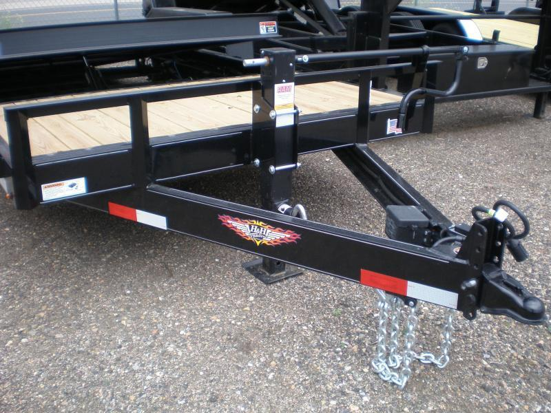 2020 H&H 82X20 PARTIAL TILT Flatbed Trailer 14K