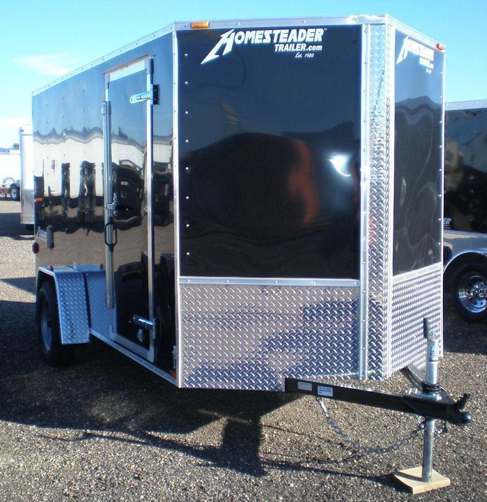 2020 Homesteader 6x12 Enclosed Cargo Trailer - V Nose