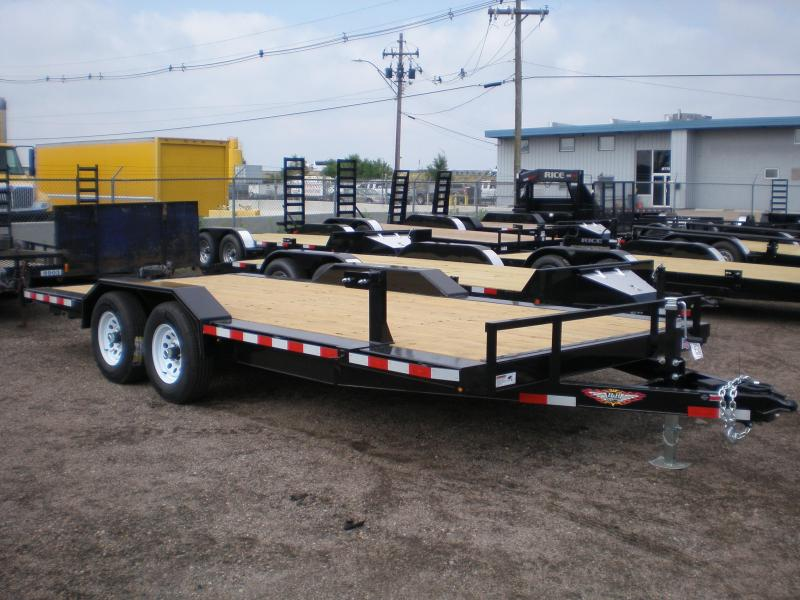 2019 H&H 83x18 Car Hauler w/Drive Over Fenders 10K Car / Racing Trailer