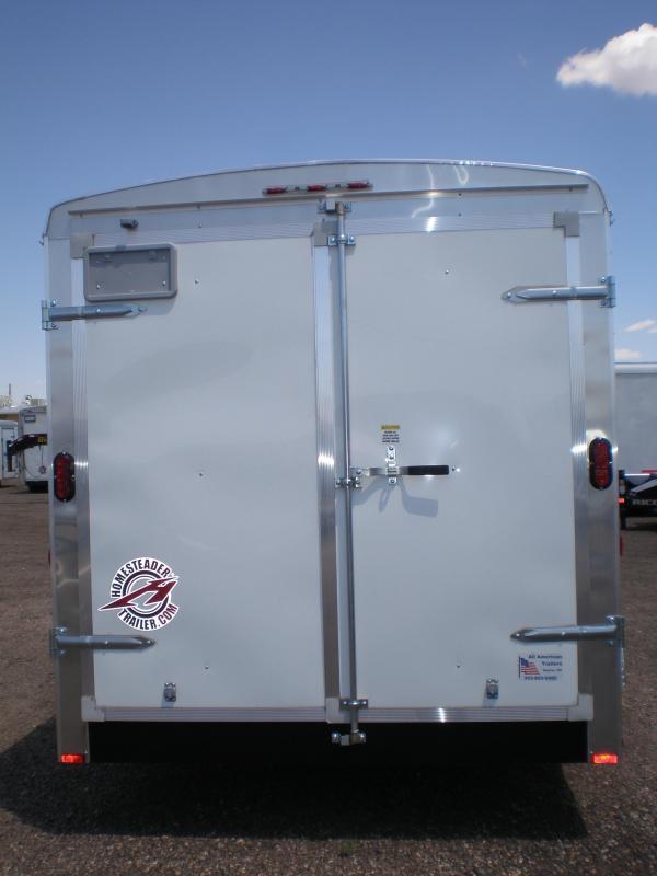 2020 Homesteader 7x16 Enclosed Cargo Trailer  Double Doors