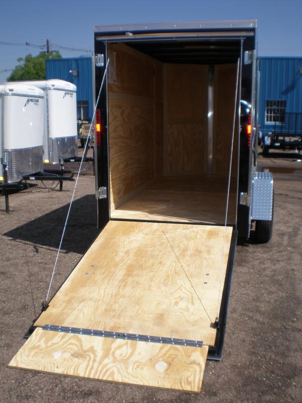 2020 Homesteader 5x10 Enclosed Cargo Trailer - V Nose