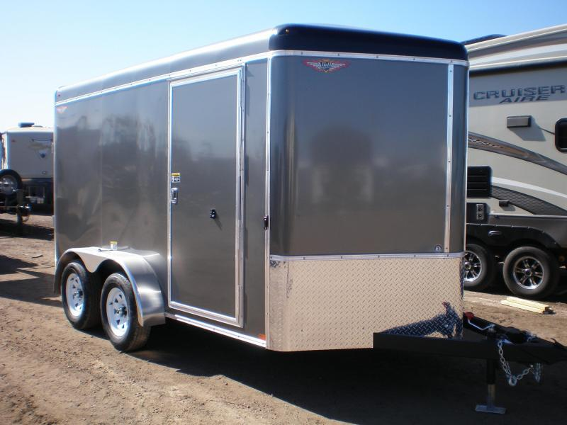 2020 H and H Trailer H8412TRTV-070 Enclosed Cargo Trailer