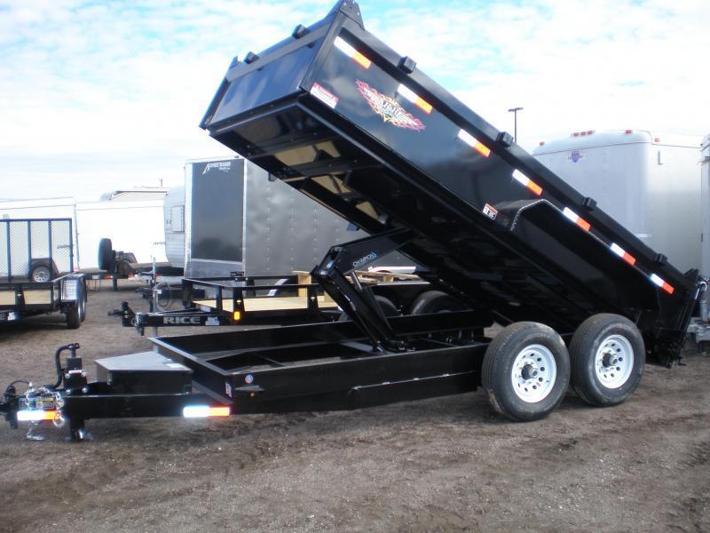 2020 H & H 83x16' Dump Trailer 14K w/ Tarp