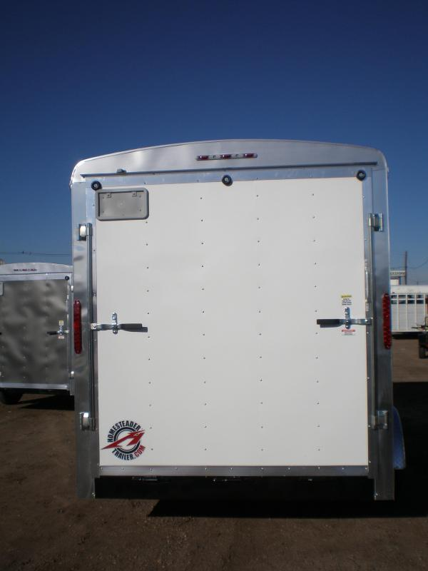 2020 Homesteader 7x14 Enclosed Cargo Trailer w/Ramp & Extra Height