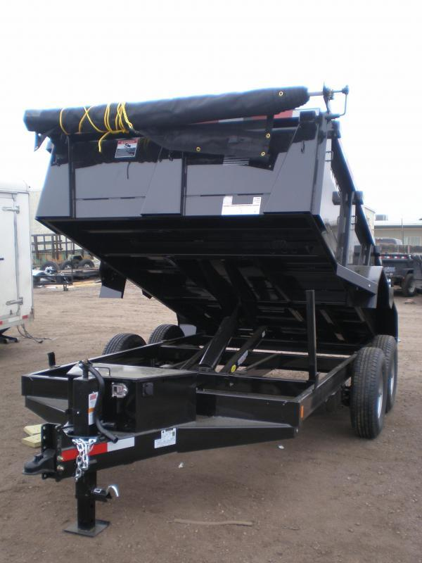2018 Rice 82x12 HD Dump Trailer