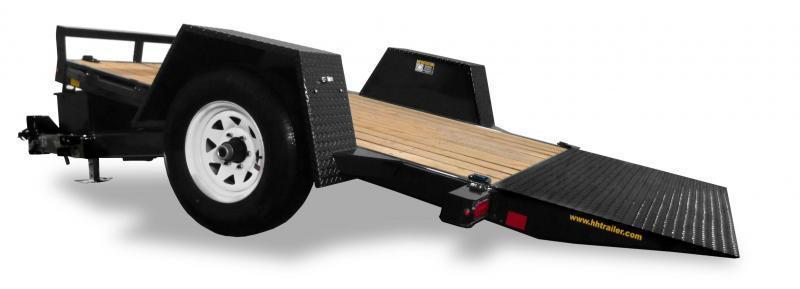 2020 H & H 6.5x12 HD Tilt Trailer - 7.8K GVWR