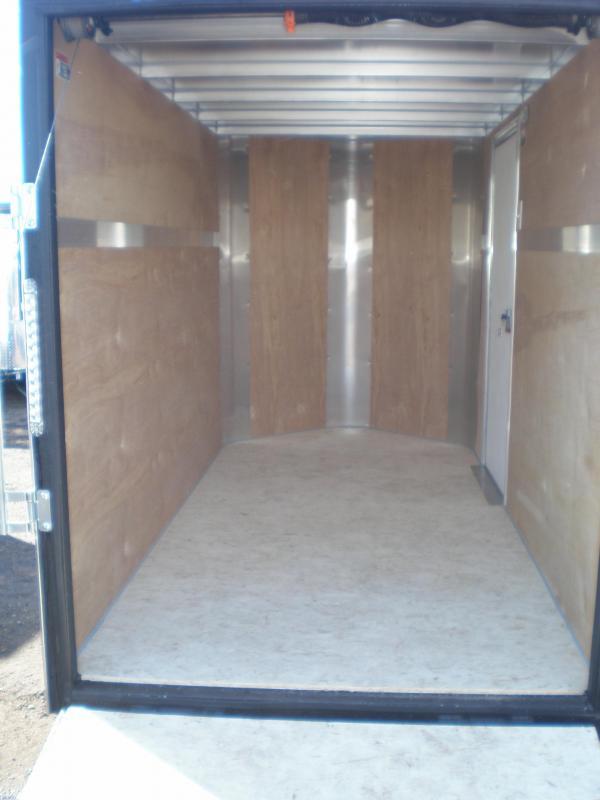 2018 H&H 5x10 Enclosed Cargo Trailer w/Ramp V-Nose
