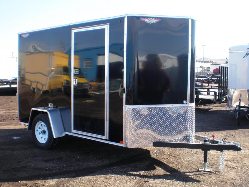 2018 H&H 5x10 Enclosed Cargo Trailer w/Ramp V-Nose